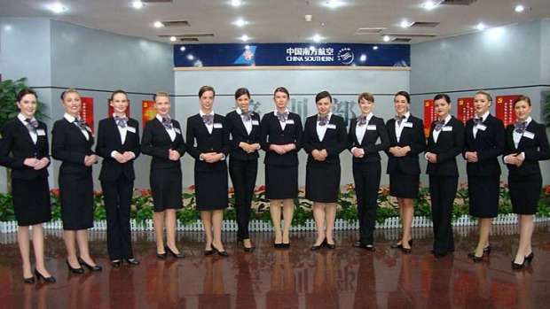 China Southern Airlines is employing Australian cabin crews on Sydney-China flights.
