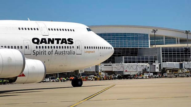 Qantas has pulled back on international routes.