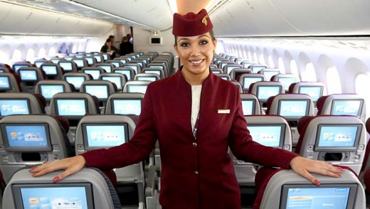 World's number one ... Qatar Airways.