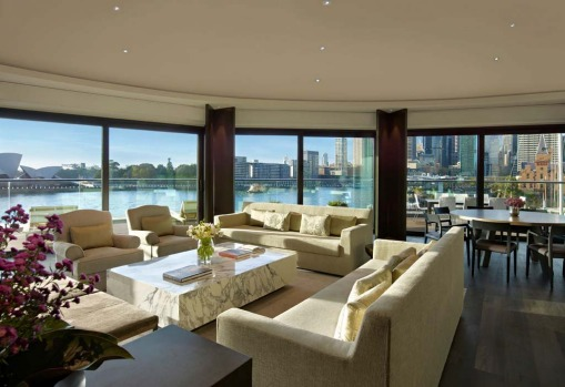 The Sydney Suite is spacious ? 350 square metres, complete with indoor/outdoor dining for up to eight people, a ...