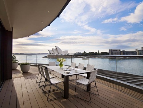 The Sydney Suite is spacious – 350 square metres, complete with indoor/outdoor dining for up to eight people, a ...