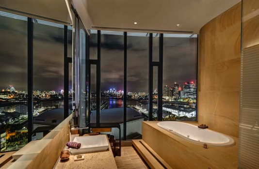 Penthouse Suites, The Darling, Sydney. How much: Around $12,000. Guests in the Penthouse Suites enjoy 24-hour butler ...