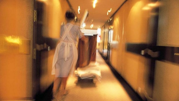 We often have accidents in hotel rooms, but despite the cleaning bill, the hotel may let you off the hook.