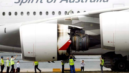 The Qantas A380 engine explosion should lift the airline's safety rating, not diminish it, because the pilots on board ...