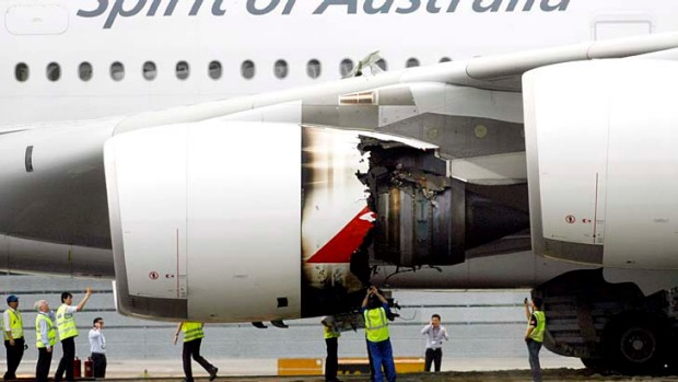 """Like a boom"" ... Qantas captain Richard de Crespigny reveals the story behind the A380 that suffered an engine ..."