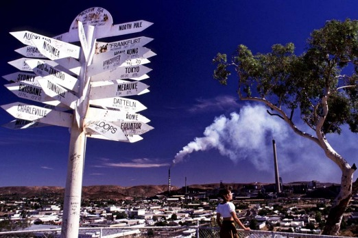 Mount Isa in far west Queensland is known for lead, zinc, copper and silver mining.