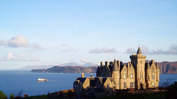 Great Scots... Glengorm Castle on the Isle of Mull.