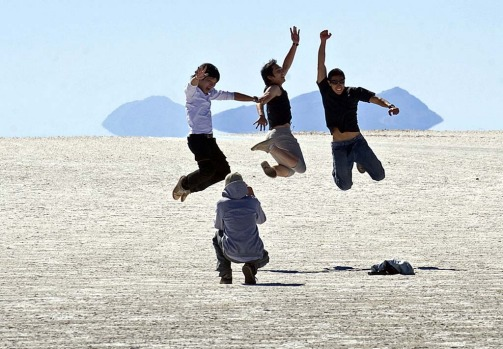 The salt flats are a major tourist attraction in Bolivia, with around 60 thousand tourists visiting them every year.