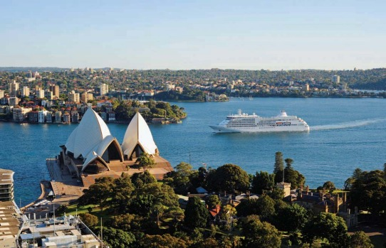 As Silver Shadow enters Sydney Heads from the Tasman, one of the most famous harbours in the world stretches before us. ...