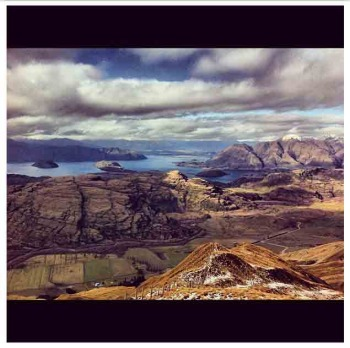 View from Treble Cone NZ by @stillnothere