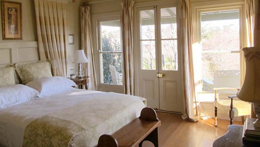 The Gardener's retreat bedroom.