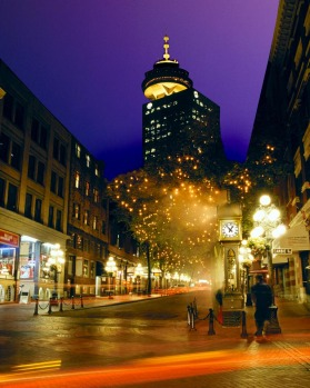 The national historical site of Gastown buzzes with bars, cafes and galleries.