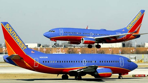 Southwest Airlines is now America's largest domestic carrier.