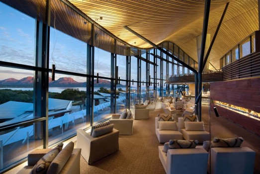 Guests at Saffire Freycinet enjoy enjoy gourmet meals, the inhouse spa and a range of activities including walks, ...