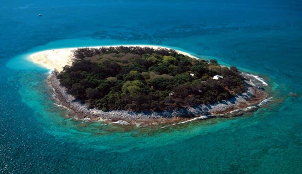 Luxury on the Great Barrier Reef. Only 12 people can stay on Wilson Island at any given time.