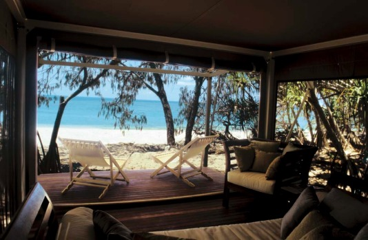 Only 12 people can stay on Wilson Island at any given time ? and only if they leave the kids at home. This exclusive ...