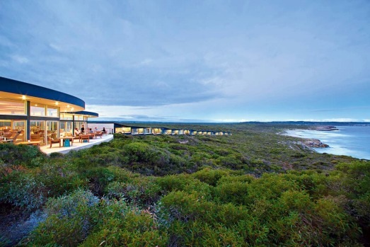 To do Kangaroo Island in luxury, stay at Southern Ocean Lodge.