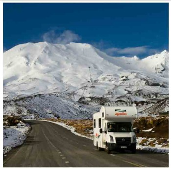 Week seven Mt Ruapheu road to Turoa by @snowreports