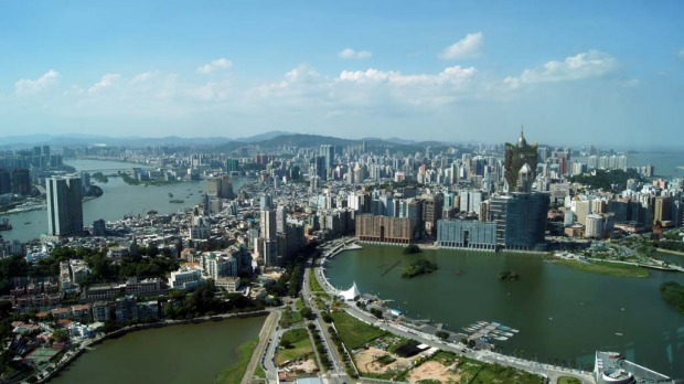 The best views of the city are on offer at the Macau Tower.