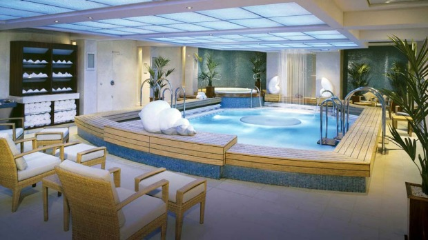 The spa on board the Queen Mary 2.