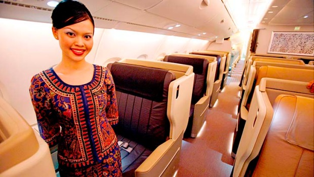 If heaven were staffed by flight attendants, God would appoint a Singapore Airlines crew.