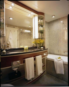 Bathrooms come with a choice of Acqua di Parma, Bvlgari or Neutrogena bath amenities, double basin vanity, full bath and ...