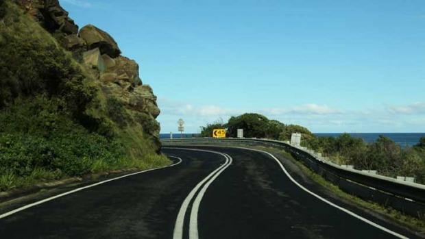 The Great Ocean Road has many dangerous corners.