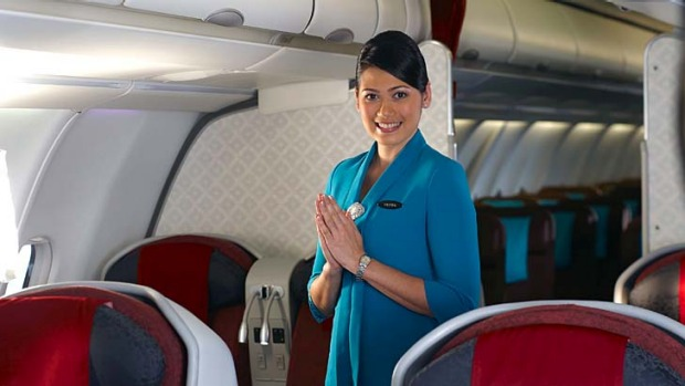 Garuda's CEO says people will see for themselves how the airline is performing.