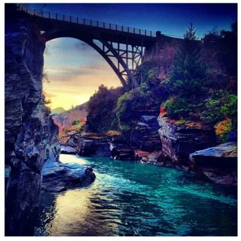 Shotover River in Queenstown by @guskenworthy