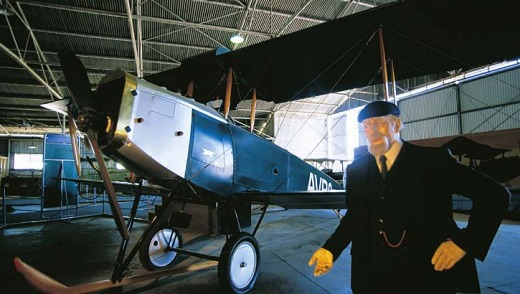 The Qantas Founders Museum in Longreach stirs memories of the golden age of air travel.
