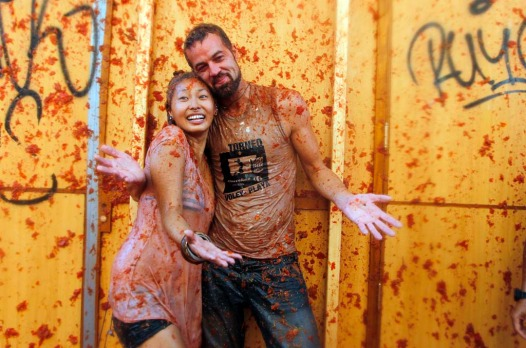 The Tomatina is held each year in Bunol, in the heart of a fertile region some 40 kilometres north of the coastal city ...