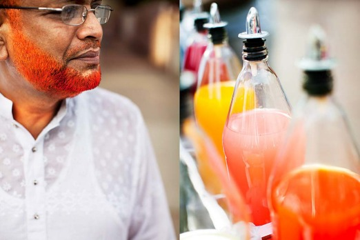 Jamaica: <i> Beards the colour of snow corn syrup. </i>