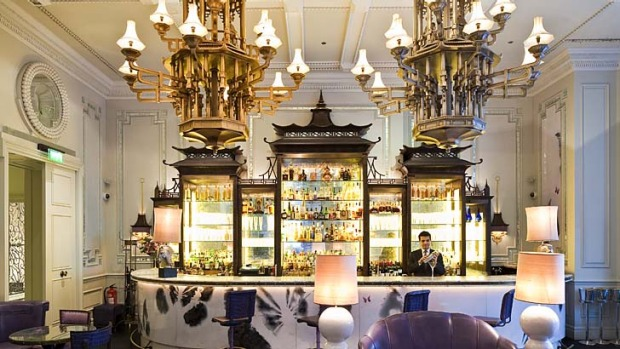 Taste-makers ... The Artesian Bar, Langham Hotel.