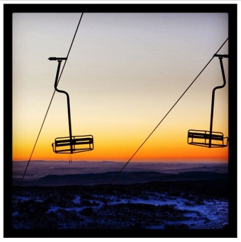 Week eleven sunset by @perisher_ski_resort