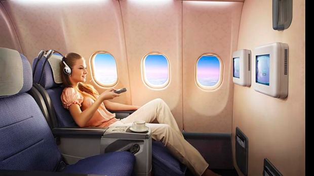China Southern business class.