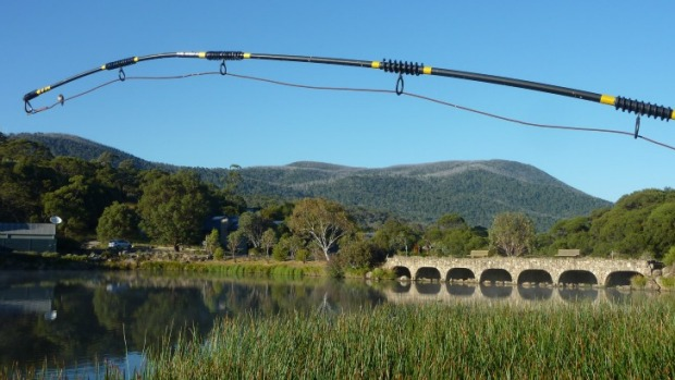 Lake Crackenback Resort's 'wombat burrow' bridge