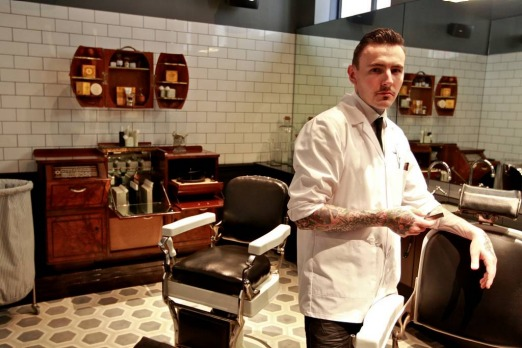 Tom South: the Barber.
