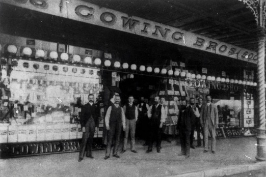 A Fairfax Archive pic of Gowing Brothers Store, George Street, Sydney in 1890.