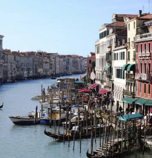 There are cheaper ways to enjoy Venice's Grand Canal than the 80-euro gondola rides.