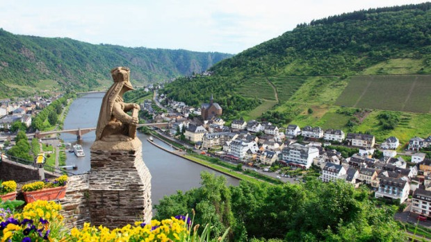 The Rhine route ... Cochem.