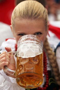 This year's edition of the world's biggest beer festival Oktoberfest will run until October 7.