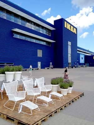 Biggest of the big ... Ikea Kungens Kurva in Sweden.