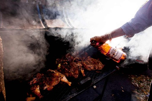 Bedford-Stuyvesant: <i>'the secret ingredient is my rub, not the beer</i>