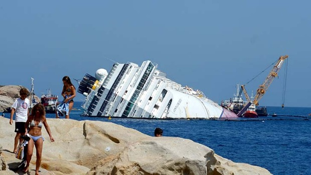 "The crew of the Costa Concordia provided ""true examples of courage and professionalism"", according to Lloyd's List ..."