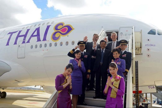 Thai Airways' planned fleet of six A380s and new Boeing 777-300ERs will help it raise the percentage of seats filled in premium cabins across its network to more than 70 per cent from about 60 per cent.