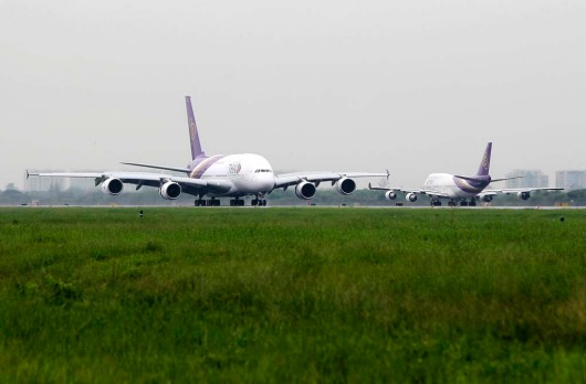 Thai's Airways new 507-seat A380s will replace 375-seat Boeing 747-400s that have been in service for more than 20 years.