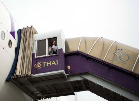Thai's push into premium markets comes as an economic slowdown damps corporate and long-haul travel demand.