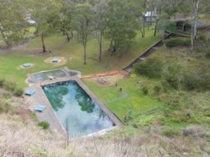 Yerrangobilly's thermal pool