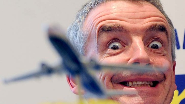 President of Irish budget carrier Ryanair Michael O'Leary.