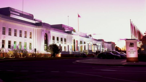 Old Parliament House - one of Canberra's most haunted buildings.